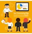 Business Presentation Design vector image vector image