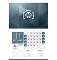 Calendar for 2016 Year November Design Clean vector image