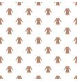 sheepskin jacket pattern vector image