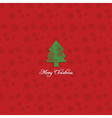christmas tree background 1110 vector image vector image
