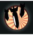 Cartoon Air Bomb2 vector image