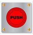 button vector image vector image