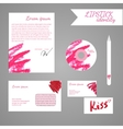Set of identity corporate elements vector image