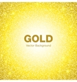 Golden Bright Glowing Circle Background vector image