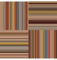 Isolated colorful abstract horizontal and vertical vector image