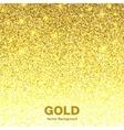 Golden Bright Glowing Gradient Background vector image