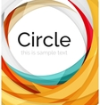 swirl icon or background vector image