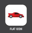 car symbol on automobile vector image
