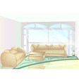 Living room vector image