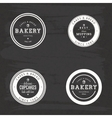 Bakery Food Labels vector image