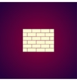 Brick icon vector image