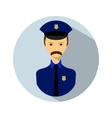 Icon of policemen vector image