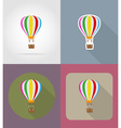 transport flat icons 75 vector image