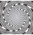Whirl movement vector image