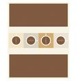 paper coffee vector image vector image