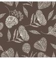 leaf drawing background vector image