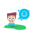 Good spirits in the park vector image
