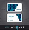Modern Business-Card Design vector image