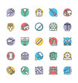 Construction Cool Icons 1 vector image