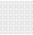 Seamless geometric background Arabic pattern vector image