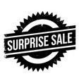 surprise sale rubber stamp vector image