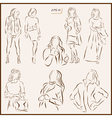 womens fashion vector image