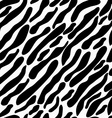 Coloring Zebra seamless vector image