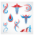Health Medical Symbols vector image