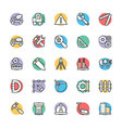 Construction Cool Icons 3 vector image