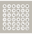 IT icons collection for your design vector image