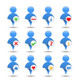 User Icons vector image