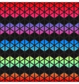 Abstract colorful Geometric triangles background vector image