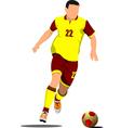 al 0419 soccer 01 vector image vector image