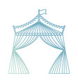 circus tent icon image vector image