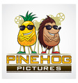 Pine Hog Pictures vector image