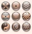 Abstract App Icons vector image