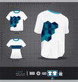 Abstract uniform t-shirt design vector image