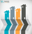 Real Estate Concept Infographic vector image