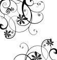 gothic vine vector image