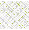 map of the city in white style vector image