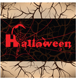 Halloween design background vector image vector image