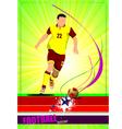 al 0419 soccer 02 vector image vector image