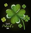 happy saint patricks day celebration vector image