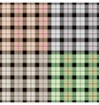 Isolated abstract colorful checkered background vector image