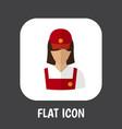 of job symbol on restaurant vector image