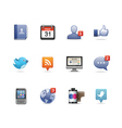 social network pack vector image