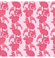 pink flowers 3 380 vector image