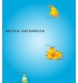 Antigua and Barbuda vector image vector image