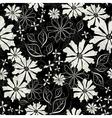 effortless floral pattern vector image