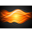Colourful wavy background vector image vector image